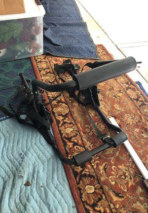Schwinn 2 bike trunk rack black for Sale in Northfield, IL