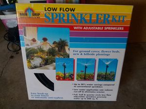 Rain Drip Sprinkler Kit for Sale in Renton, WA