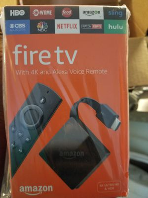 New fire TV stick 4k for Sale in Tampa, FL