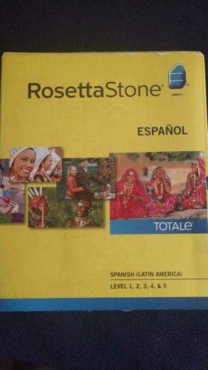Spanish rosetta stone for Sale in West Hartford, CT