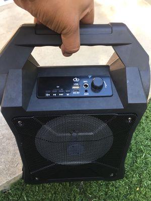 "New 6.5"" Bluetooth Speaker 🔊 FM Radio TF Card Reader USB LED for Sale in Riverside, CA"