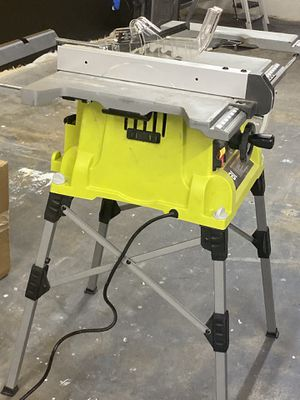 Ryobi table saw for Sale in Dallas, TX