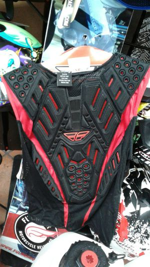 Mountain bike downhill safety shirt with pads for Sale in Los Angeles, CA