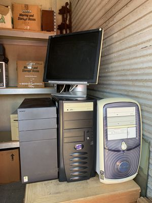 PCs and monitor for Sale in Austin, TX
