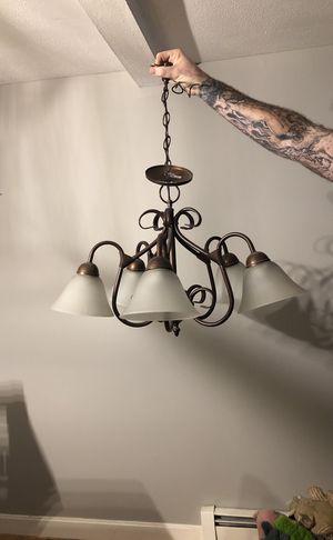 5 light chandelier for Sale in Revere, MA