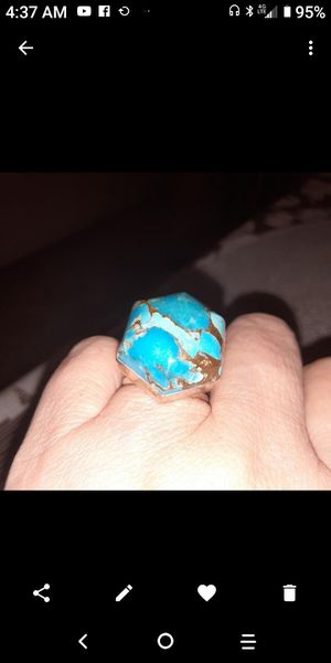925.Silver. turquoise ring size 7. for Sale in Fullerton, CA