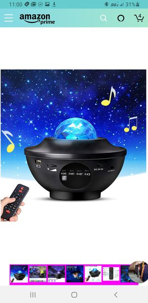 Night Light Projector with Remote Control, Eicaus 2 in 1 Star Projector with LED Nebula Cloud/Moving Ocean for Sale in Las Vegas, NV