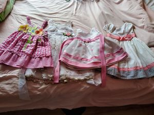 Girl flower dresses 9 Months to 3T for Sale in Grand Prairie, TX