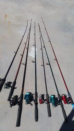 Fishing rods for Sale in Menifee, CA