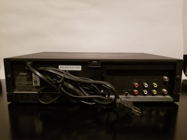 VHS players Allegro