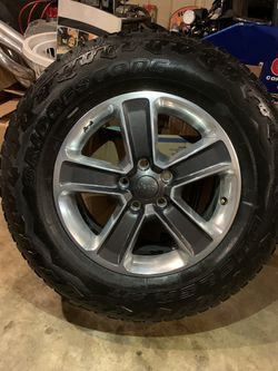 2020 Jeep Wrangler Sahara unlimited wheels for Sale in Charlotte,  NC