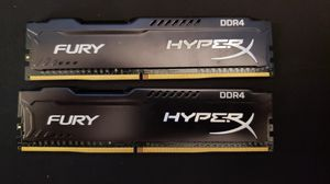 HyperX Fury 2x4gb DDR4-2133 Desktop Ram for Sale in Flat Rock, MI
