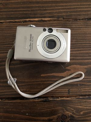 Canon Powershot SD600 for Sale in Kansas City, MO