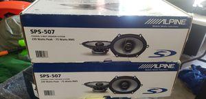 Alpine 5x7 speakers 2 sets for Sale in Walnut Creek, CA