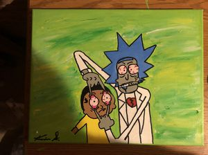 Rick & Morty custom Painting for Sale in Baltimore, MD