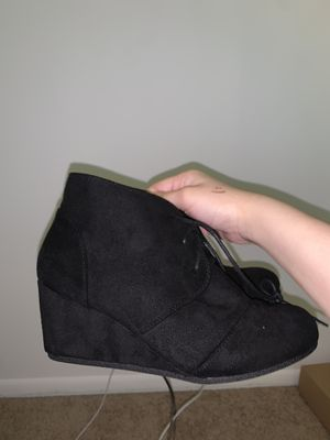 Wedges ankle boots for Sale in Herndon, VA