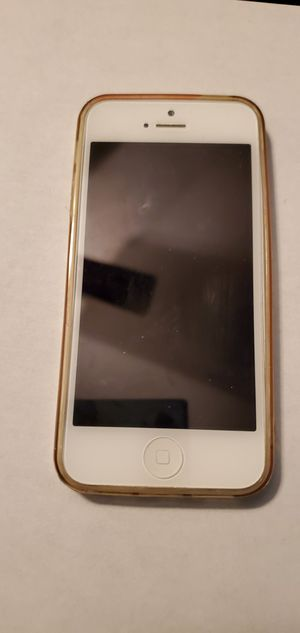 Apple iPhone 5 White Unlocked clean imei for Sale in Chicago, IL