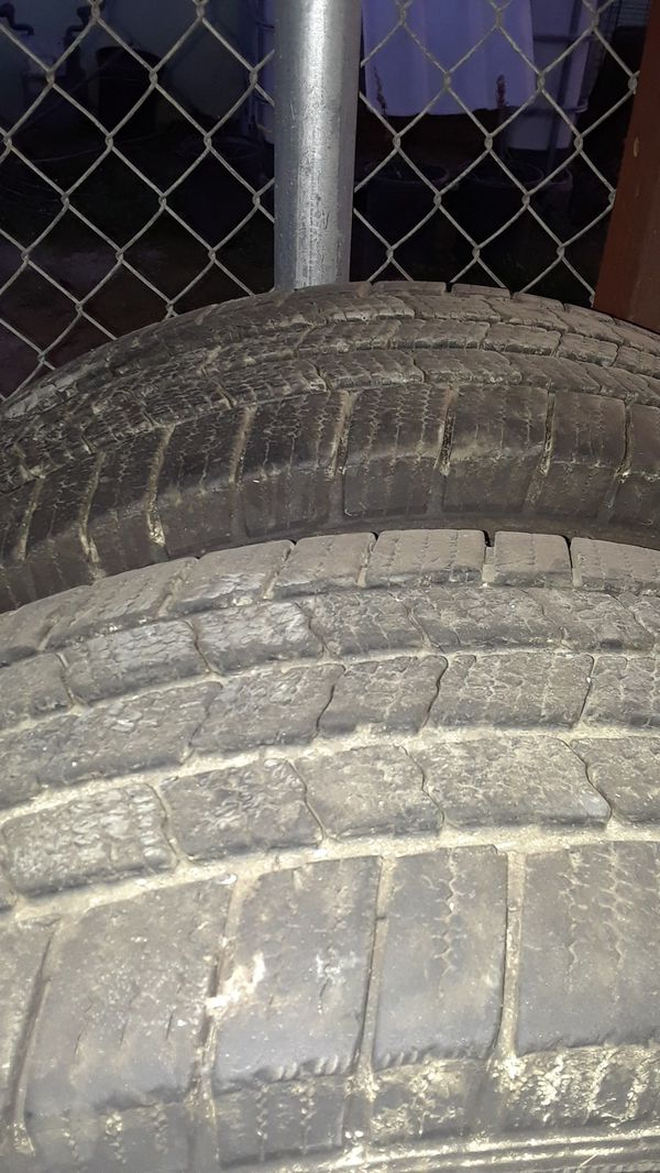 """2 17"""" michelin used tires"""