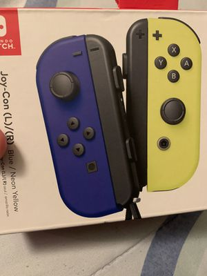 Nintendo Switch JoyCons (BrandNew) still sealed for Sale in Riverside, CA