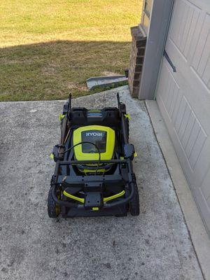 """Ryobi 21"""" Brushless 40 Volt Lawn Mower for Sale in Loganville, GA"""