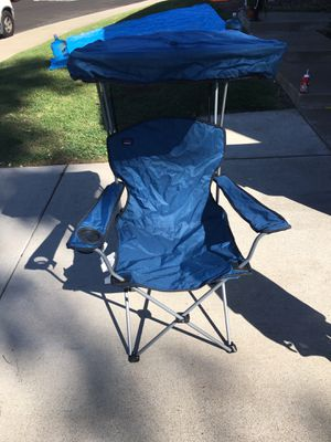 Camp Chair with Sunshade for Sale in San Diego, CA
