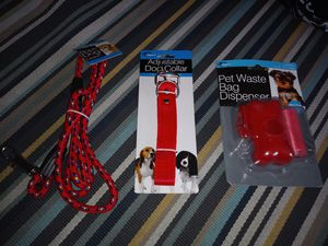 Red Dog Walking Set for Sale in Fullerton, CA
