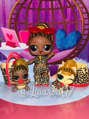 Fierce Family Set LOL Surprise Dolls 🐯 for Sale in Hialeah, FL