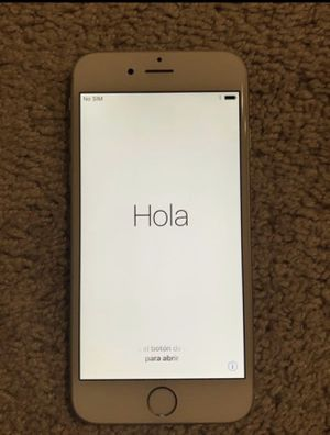 iphone 6 64gb AT&T (See description) Firm on Price for Sale in Houston, TX