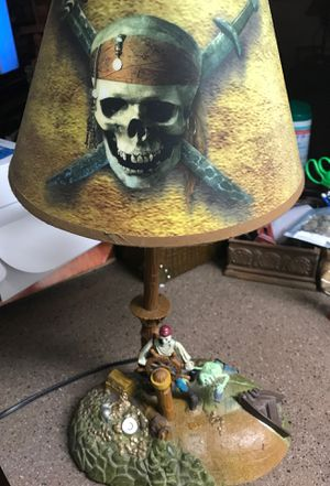 Disney pirates of the Caribbean animated lamp for Sale in Scottsdale, AZ
