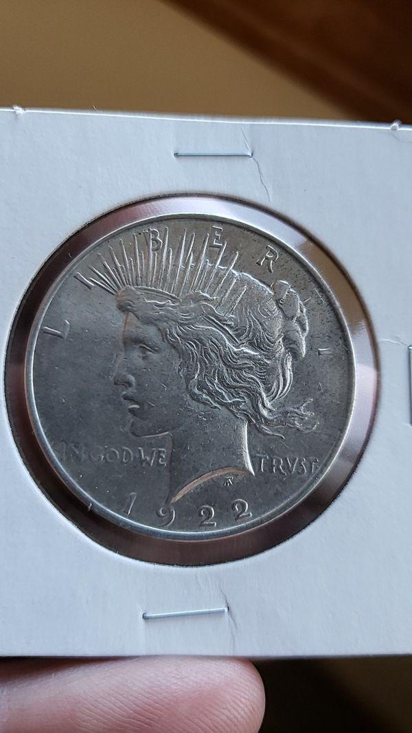 1922-P Peace Dollar