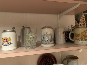Authentic German beer stein collection for Sale in Arlington Heights, IL