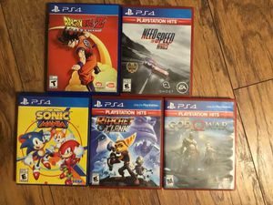 Ps4 games for Sale in Bay City, MI