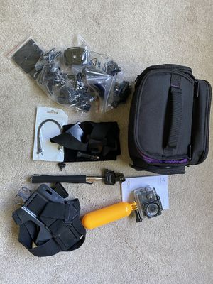 Victure Action Camera + Equipment for Sale in San Jose, CA