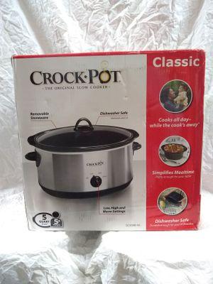 Crock Pot Slow Cooker the Original 5qt 3 heat setting for Sale in San Diego, CA