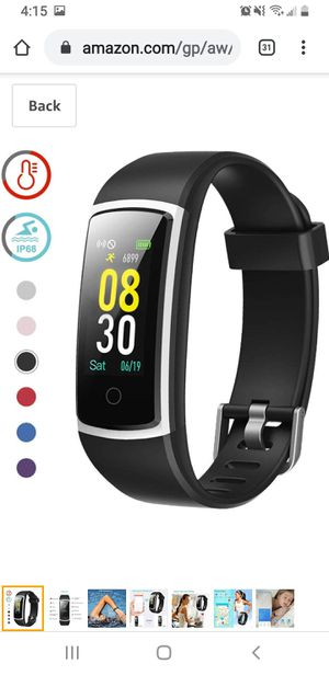 Fitness Tracker with Blood Pressure Monitor Heart Rate Monitor,IP68 Waterproof for Sale in North Miami Beach, FL