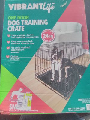 Dog training crate for Sale in Knoxville, TN