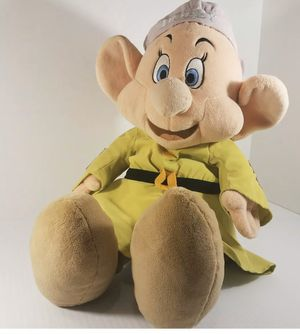 "LARGE 26"" Dopey Dwarf Disney Store Exclusive Stuffed Teddy Bear for Sale in Victorville, CA"
