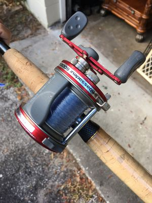 Fishing rod and reel combo. for Sale in Tampa, FL
