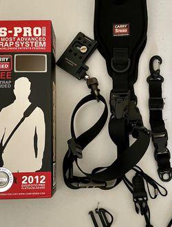 CarrySpeed Wide Shoulder Strap FS Pro Camera Strap System for Sale in Virginia Beach,  VA