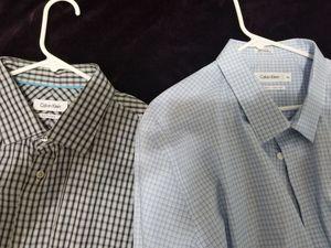 Calvin Klein dress shirts for Sale in Sanger, CA