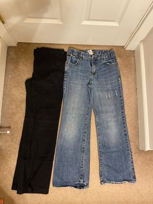Boys size Large 14 jeans and dress pants. for Sale in Fife, WA