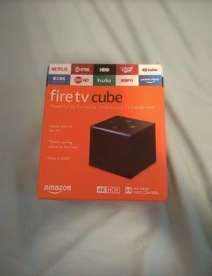 Fire Tv Cube for Sale in Amherst, OH