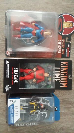 3 collectible action figures together for Sale in San Diego, CA