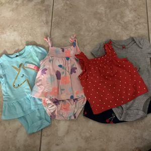 Size 3 Months Carter's Clothes For Baby Girl for Sale in Hollywood, FL