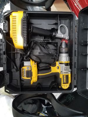 Dewalt hammer drill dcd970 with battery and charger for Sale in Baltimore, MD