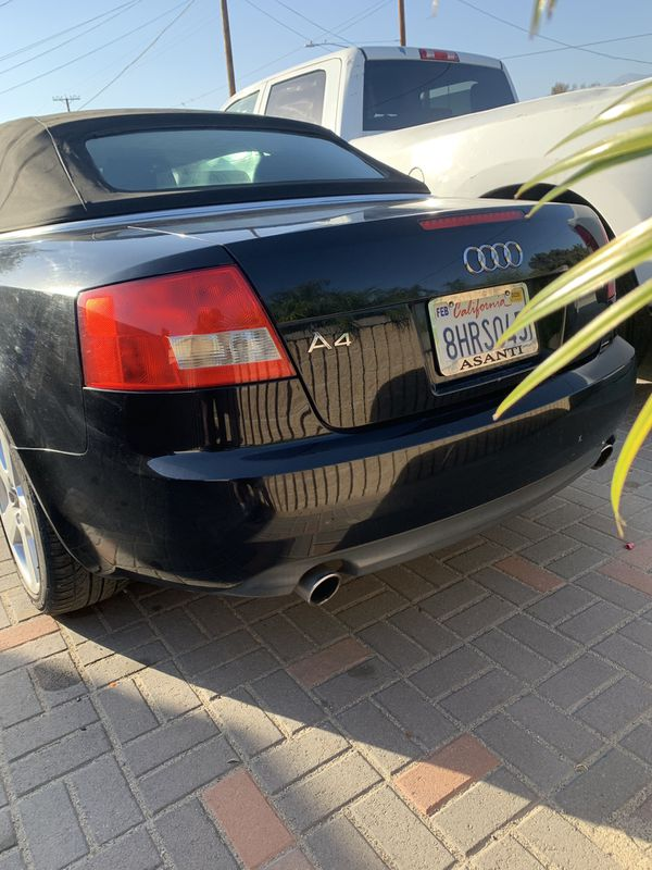 2004 Audi A4 1.8t cabriolet