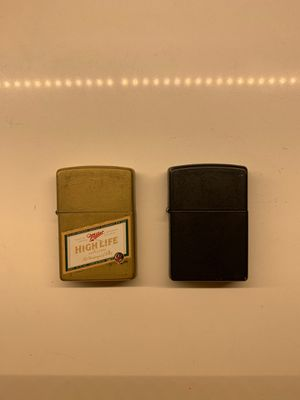 Two Zippo lighters for Sale in Portland, OR