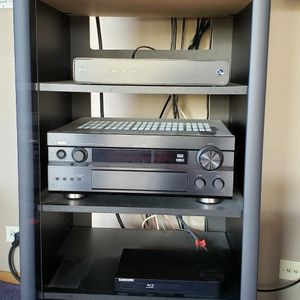 Electronic Cabinet 4' Height 4 Shelves for Sale in Bonney Lake, WA