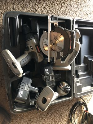 Craftsman drill, saw, and flashlight for Sale in Oakdale, CA