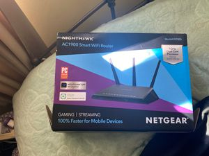 Nighthawk Smart WiFi Router AC1900 for Sale in Rock Hill, SC
